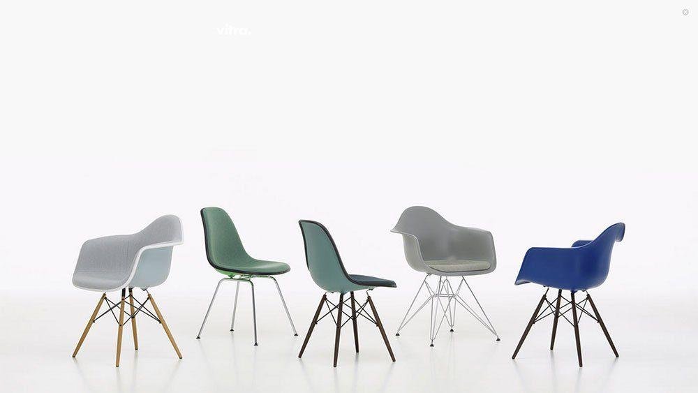 Eames Plastic Armchair DAL-23260