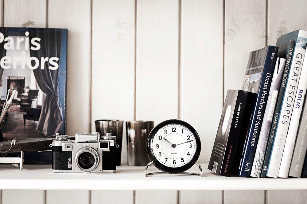 AJ Bankers Table Clock-22975