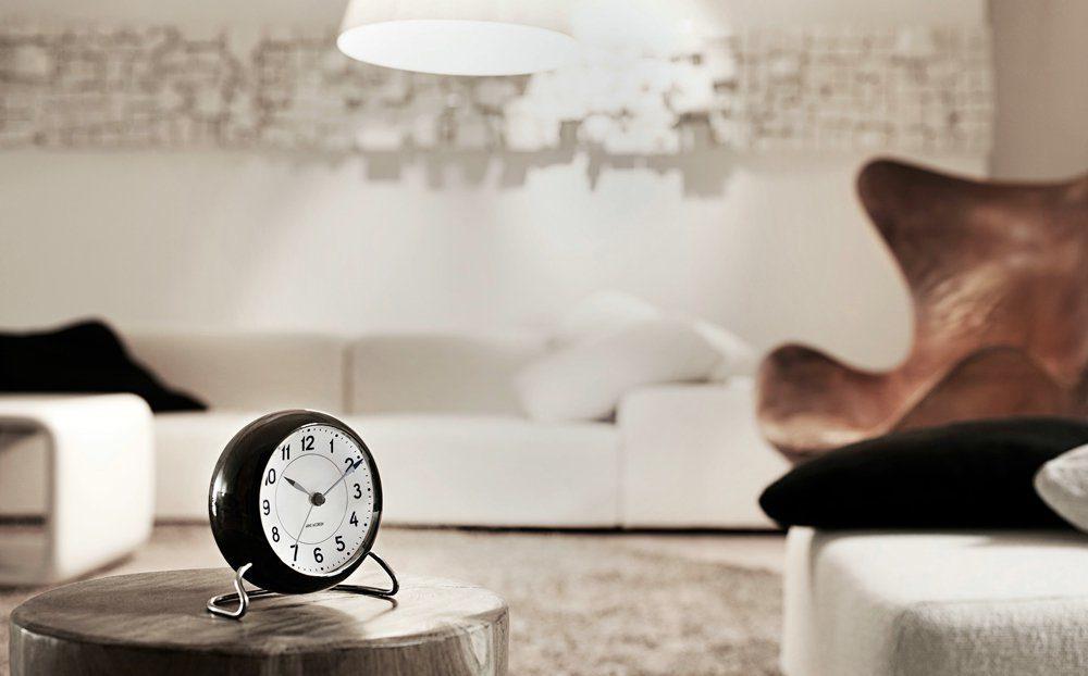 AJ Bankers Table Clock-22976