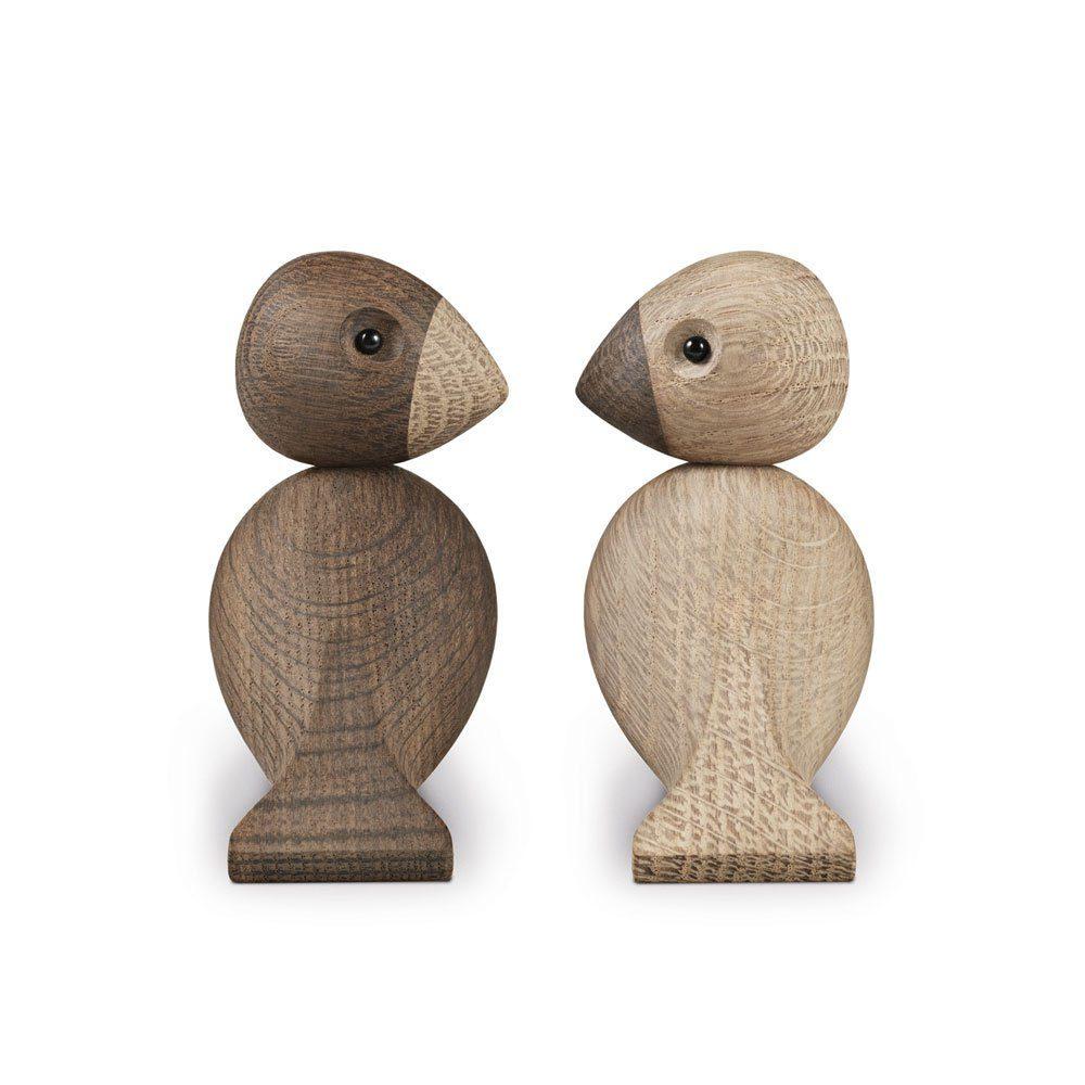 Lovebirds Träfigur-22985