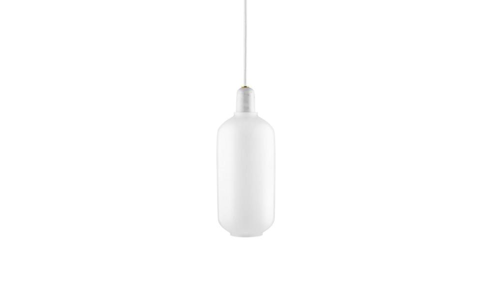 Amp pendel large white