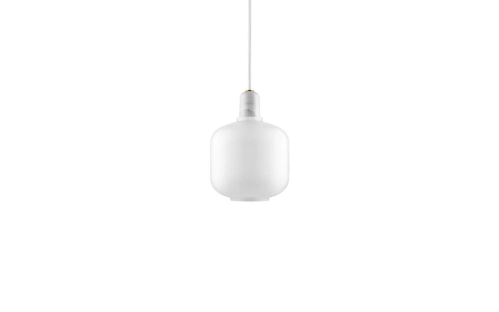 Amp pendel small white