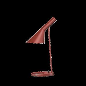 AJ bordslampa rustyred