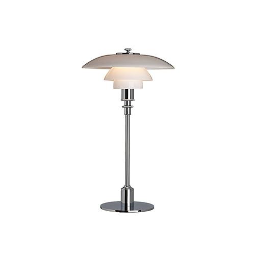 PH 2/1 bordslampa krom