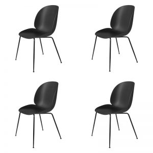 Beetle dining chair 4-pack Gubi
