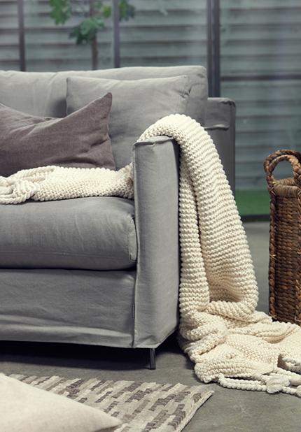 Petito soffa 4-sits Furninova detaljbild