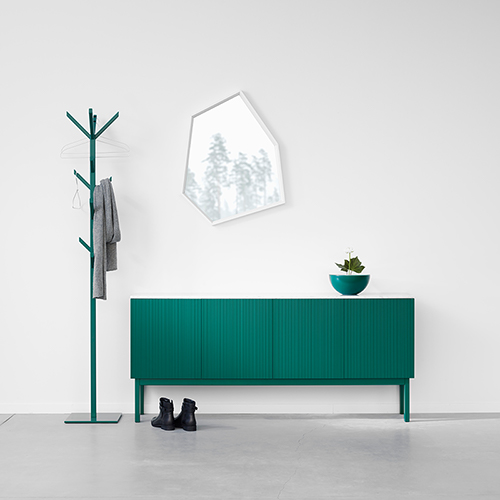 Beam sideboard interiör