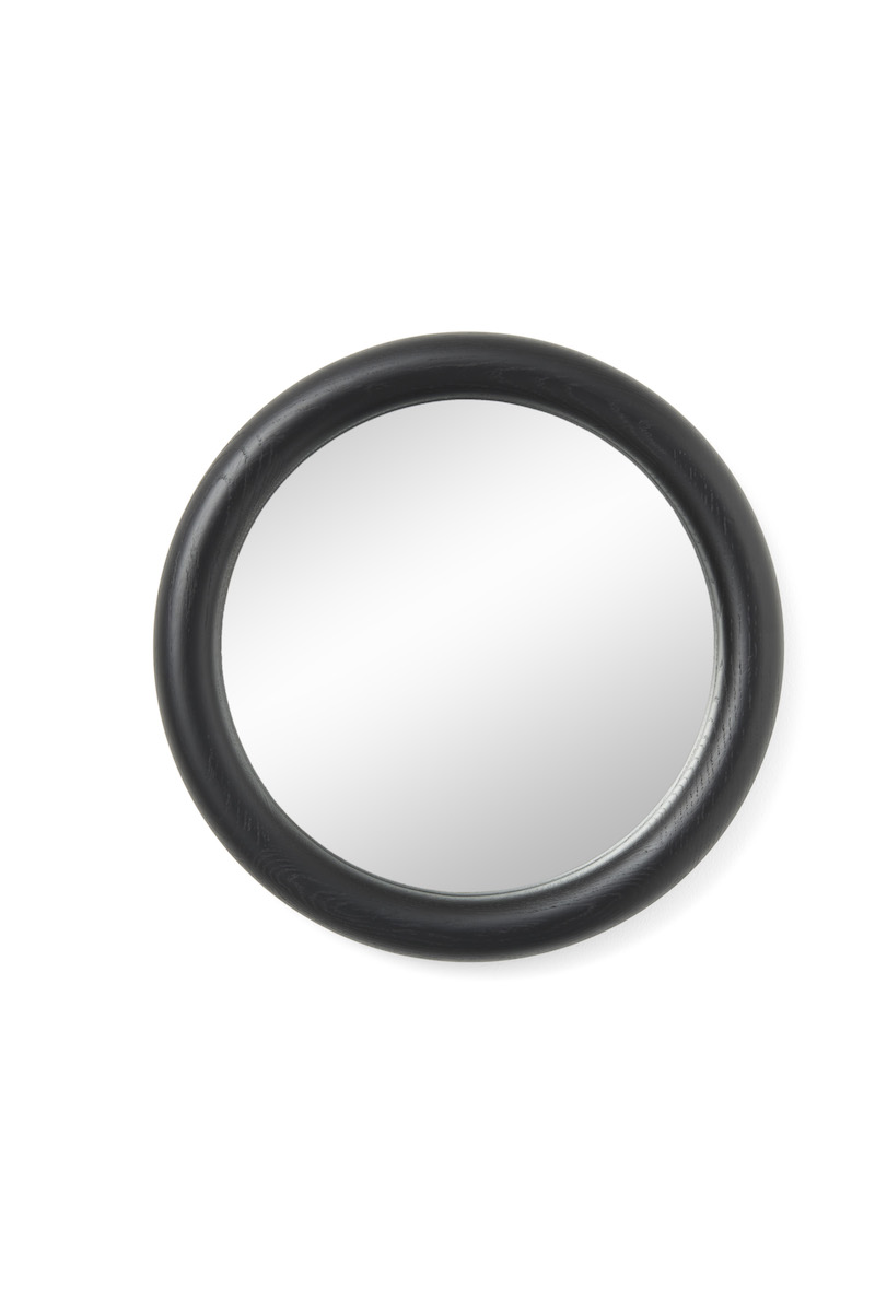 Look spegel svartbetsad ek