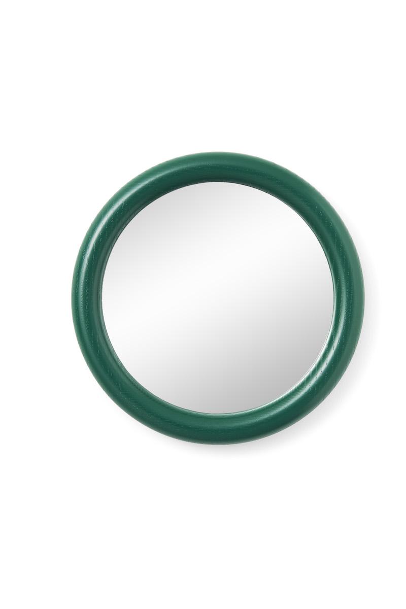 Look spegel grön betsad ek