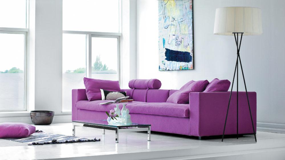 Cube soffa 3-sits Eilersen inspiration