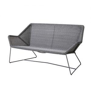Breeze soffa ljusgrå Cane-line