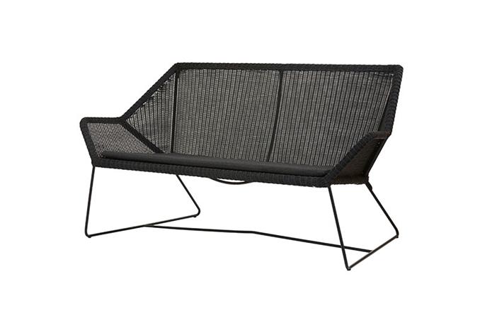 Breeze soffa svart Cane-line