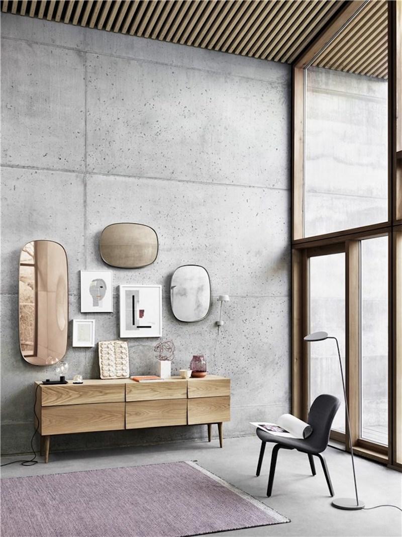 Framed spegel Muuto