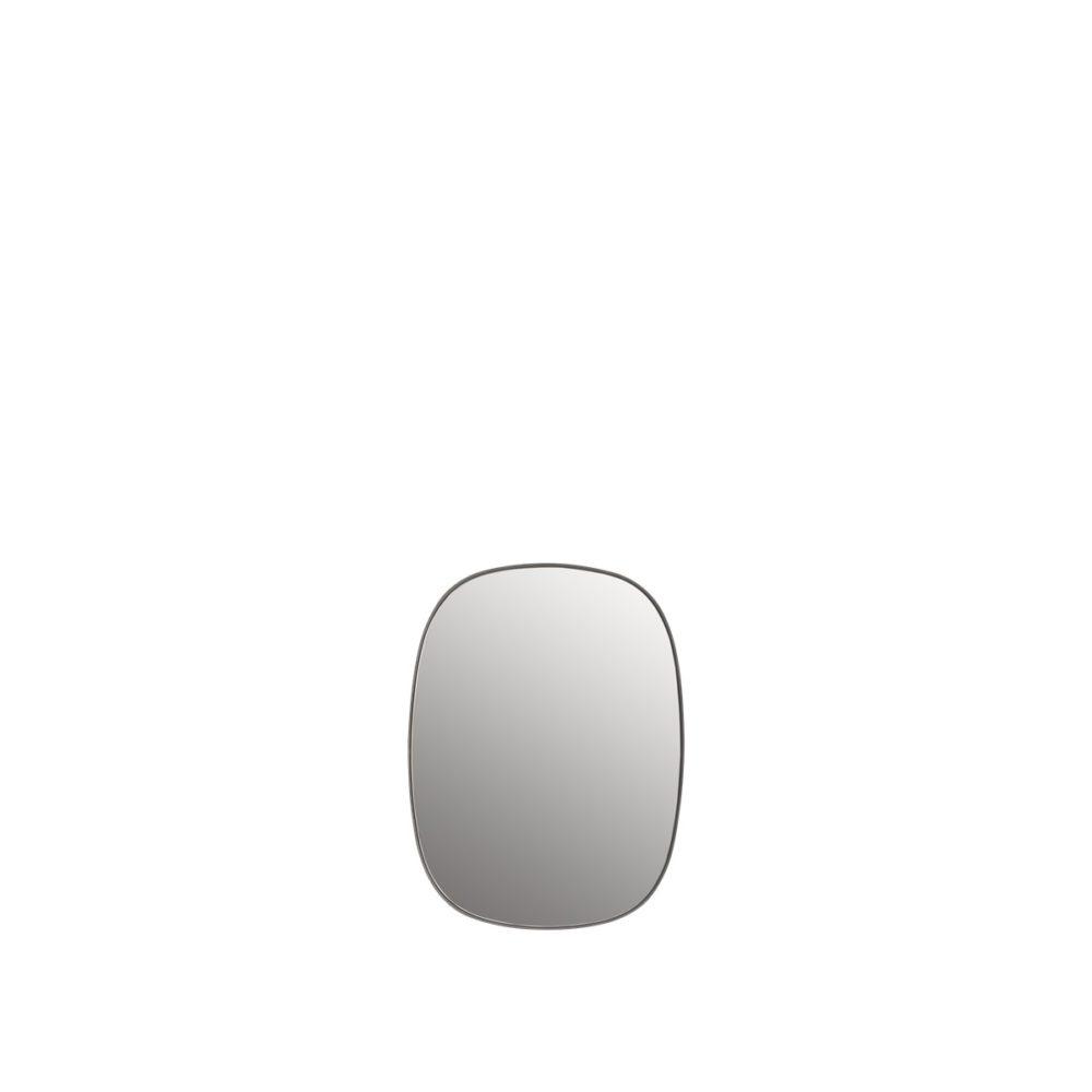 Framed spegel small grey