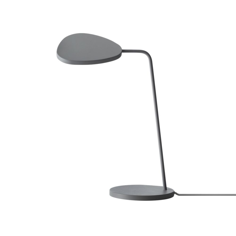 Leaf bordslampa grey