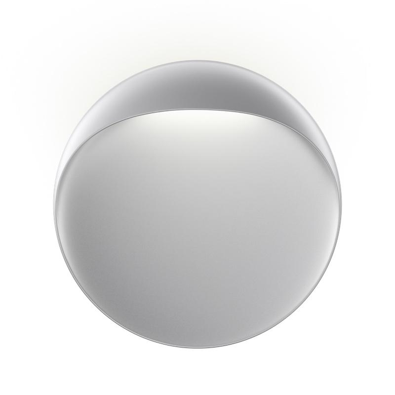 Flindt vägglampa 40 aluminium