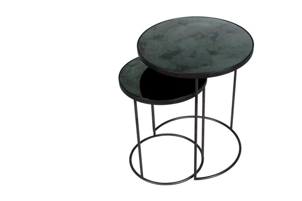 Nesting side table sidobord charcoal
