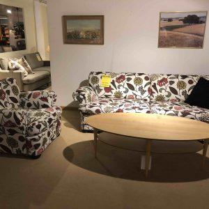 Oxford 3-sits soffa + fåtölj REA Severins