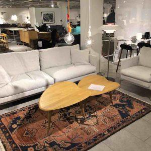 Eilersen Skagen soffa + Ashton fåtölj REA Severins