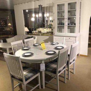 Haga matgrupp & vitrinskåp REA Severins