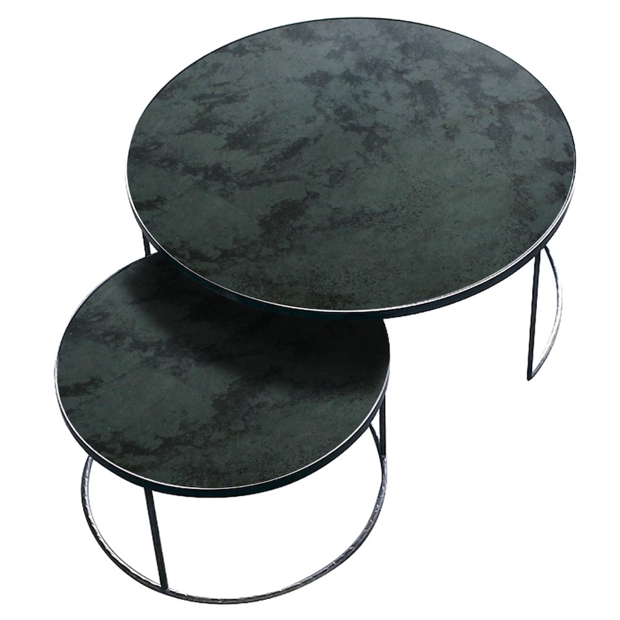 Nesting table soffbord charcoal