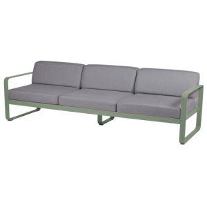 Bellevie 3-sits soffa fermob