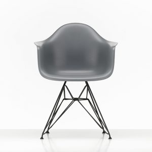 Eames Plastic DAR Armchair basic dark-0