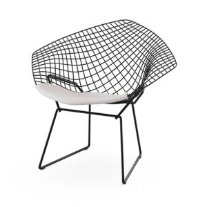 Bertoia Diamond Chair målad