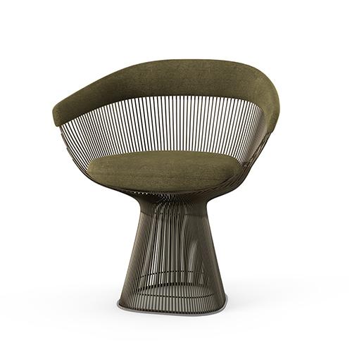 Platner Side Chair knoll bronze