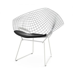 Bertoia Diamond Chair krom
