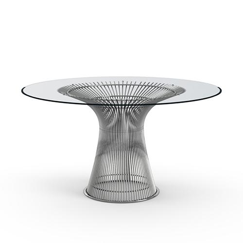 Platner Dining Table nickel