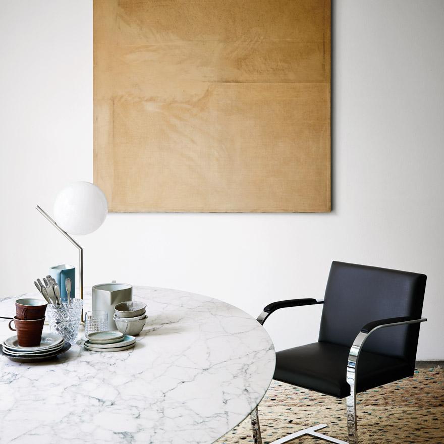 Saarinen Round Table matbord Knoll