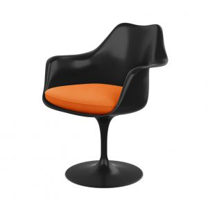 Saarinen Tulip Armchair black