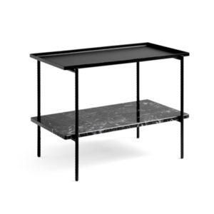 Rebar side table rectangular