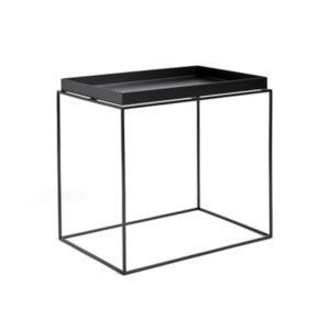 Tray table l black