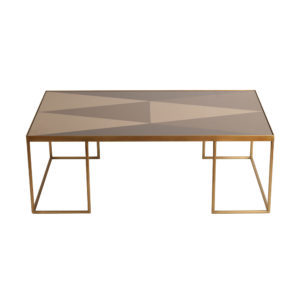 Geometric coffee table rectangular