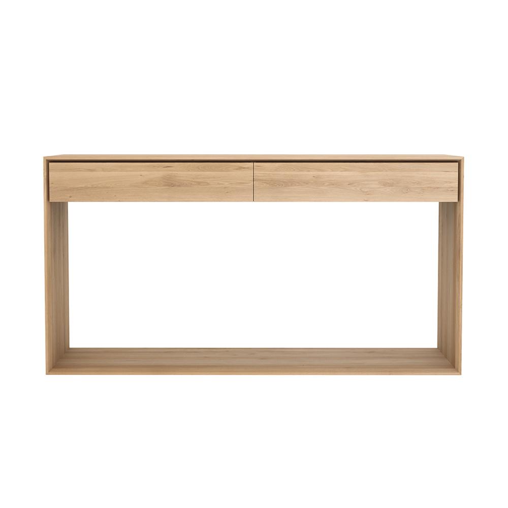 Nordic avlastningsbord 160 2 lådor