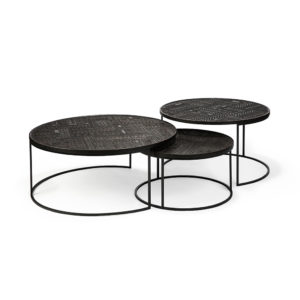 Tabwa nesting table set