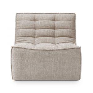 No701 soffa 1-sits beige