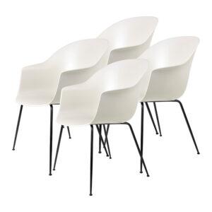 Bat dining chair 4 pack Gubi